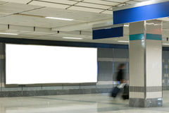 Blank bill board Royalty Free Stock Images