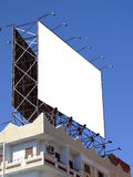 Blank billboard 03 Royalty Free Stock Image