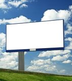 Blank billboard. Just add your text stock photography