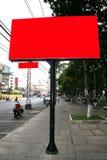 Blank billboard. Picture taken in Vietnam stock photography