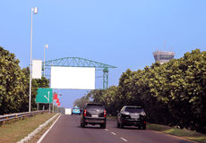 Blank billboard Stock Images