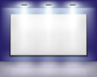 Blank billboard Stock Photography