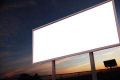 Free Blank Billboard Royalty Free Stock Photography - 19614147