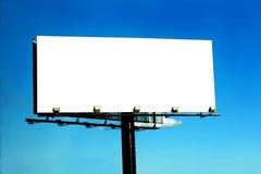 Blank Billboard Stock Image