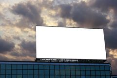 Blank Billboard 2 Royalty Free Stock Images