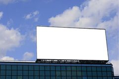 Blank Billboard 2 Stock Image