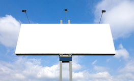 Blank billboard Stock Images