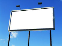 Blank Billboard. You can fill it with your fantasy stock photos