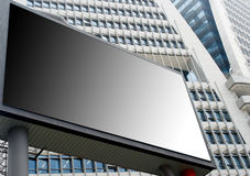 Blank Billboard 3 Stock Image