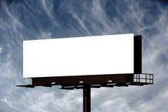Blank Billboard Royalty Free Stock Photography