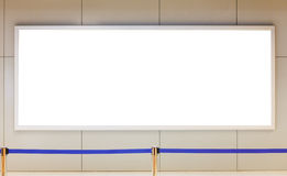 Blank billboard for advertisement Royalty Free Stock Images