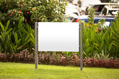 Blank billboard, for advertisement Stock Images