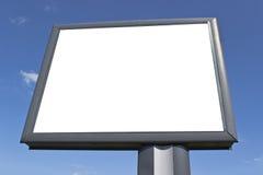 Blank billboard Royalty Free Stock Photos