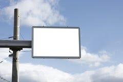 Blank billboard Stock Photo