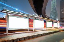 Blank billboard Stock Photos