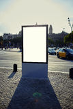 Blank billboard with copy space for your text message or conten Stock Images