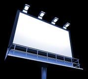 Blank Billboard Copyspace Shows Advertising Space Stock Photos