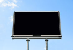 Blank Billboard Display Royalty Free Stock Photography