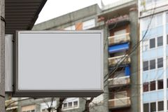 Blank billboard for free branding Royalty Free Stock Photos