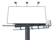 Blank Billboard. Royalty Free Stock Image
