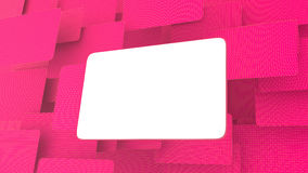 Blank billboard on the grid Stock Images