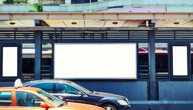 Free Blank Billboard In Street Stock Photo - 58688980