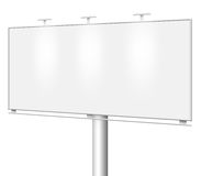 Blank billboard isolated Stock Photos