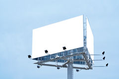 Blank billboard, just add your text Royalty Free Stock Photos