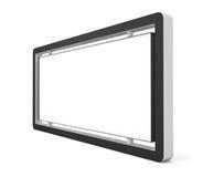 Blank billboard or lightbox Stock Photos