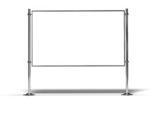 Blank billboard for message Royalty Free Stock Photography