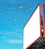 Blank billboard mockup Stock Image