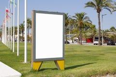Blank billboard outdoors Stock Photos