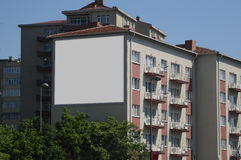 Blank billboard outdoors, outdoor advertising Stock Images