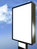 Blank billboard over blue sky Stock Image