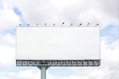 Blank billboard ready Stock Photography