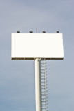 Blank billboard ready for new advertisement Stock Photography