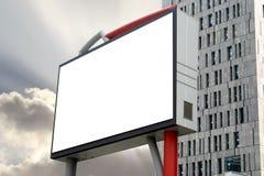Blank Billboard in Sunset Stock Photos