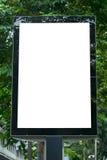 Blank Billboard Template. In Bangkok, Thailand Royalty Free Stock Photography