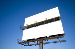 Blank Billboards Stock Photo