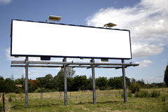 blank billboardu Obrazy Royalty Free
