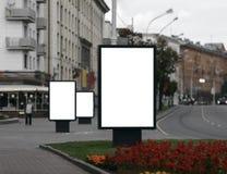 blank billboardu 3 Zdjęcia Royalty Free