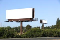 blank billboardu Zdjęcia Royalty Free