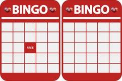 Blank bingo cards Stock Image