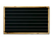 Blank black Stock Image