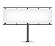 Blank black billboard Stock Photo