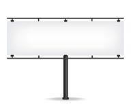 Blank black billboard Stock Photo