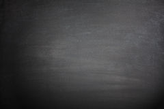 Blank Black Blackboard Stock Photography