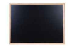 Blank black board Royalty Free Stock Photo
