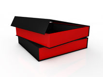 Blank black boxes Royalty Free Stock Photo
