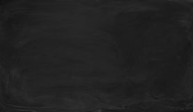 Blank black chalkboard. Background and texture. Stock Photo
